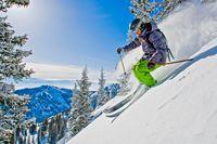 Ski fahren in Utah