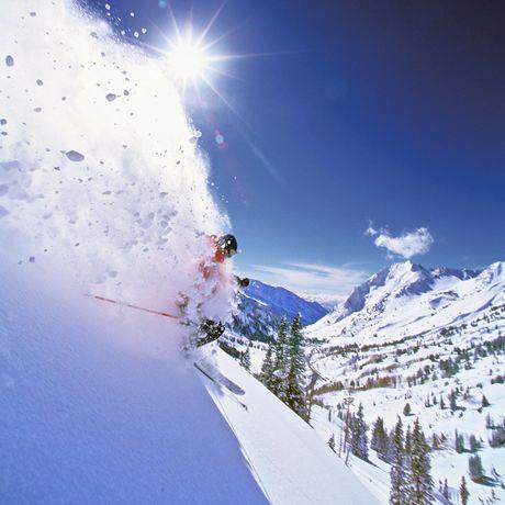 Powder Skiing bei Salt Lake City