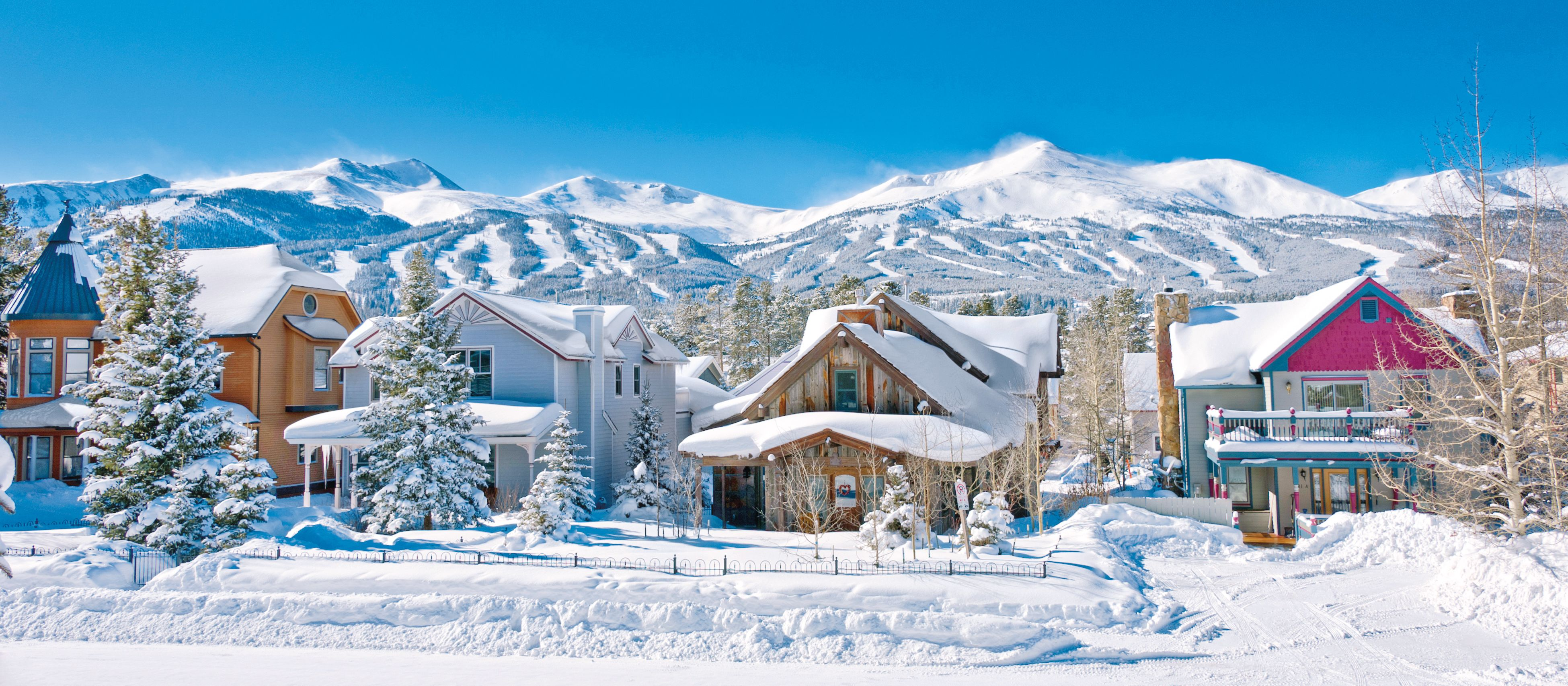 Winterliches Breckenridge