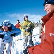 Winter Group Skiing Lifestyle at Keystone