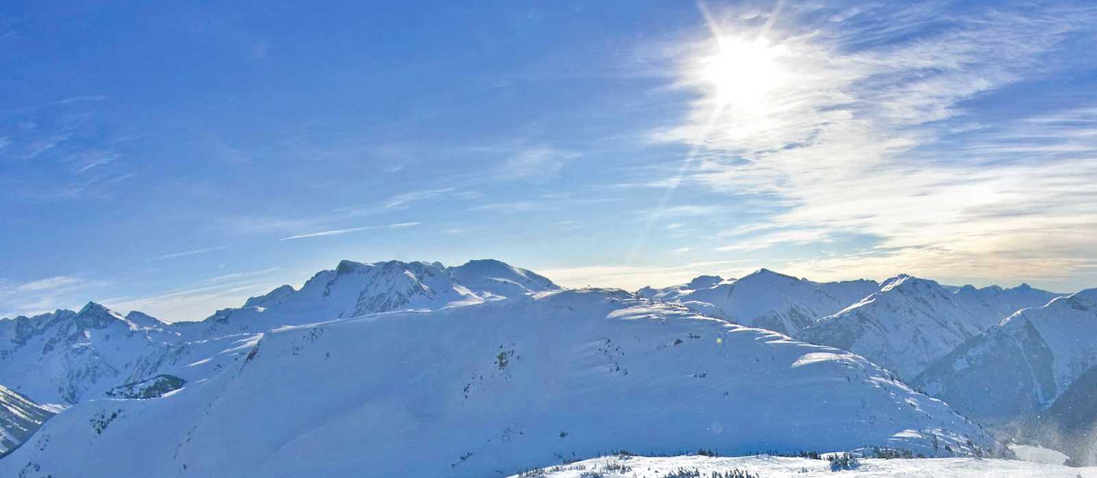 Ski-Spass in Whistler