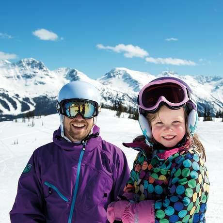 Familienspass auf dem Whistler Mountain