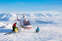 Powder pur mit Heli-Ski Ausflug