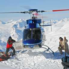 Heli-Skiing in Whistler