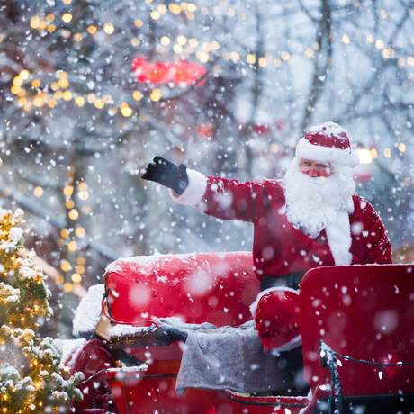 Der Weihnachtsmann in Whistler