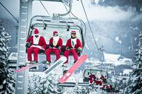 Whistler an Weihnachten