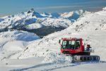 Snowcat auf dem Whistler Mountain