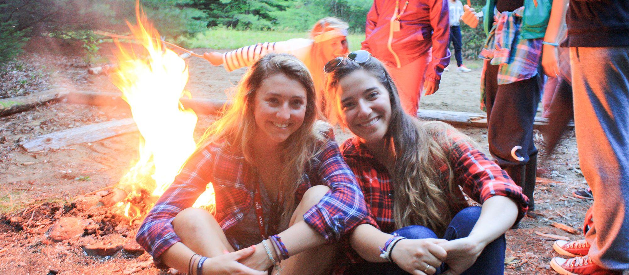 Lagerfeuer beim CISS Swallowdale Sommercamp