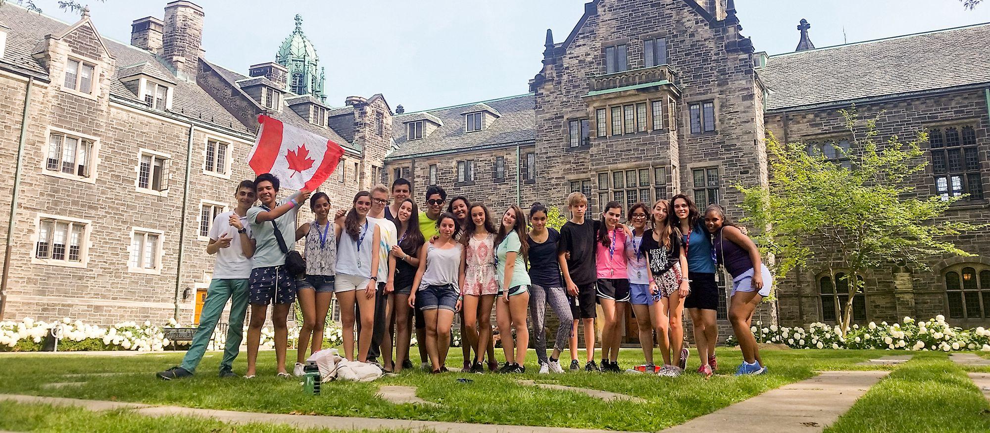 Teilnehmer des CISS Trinity Sommercamps in Toronto