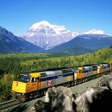 Mit Via Rail durch die schöne Landschaft von Manitoba