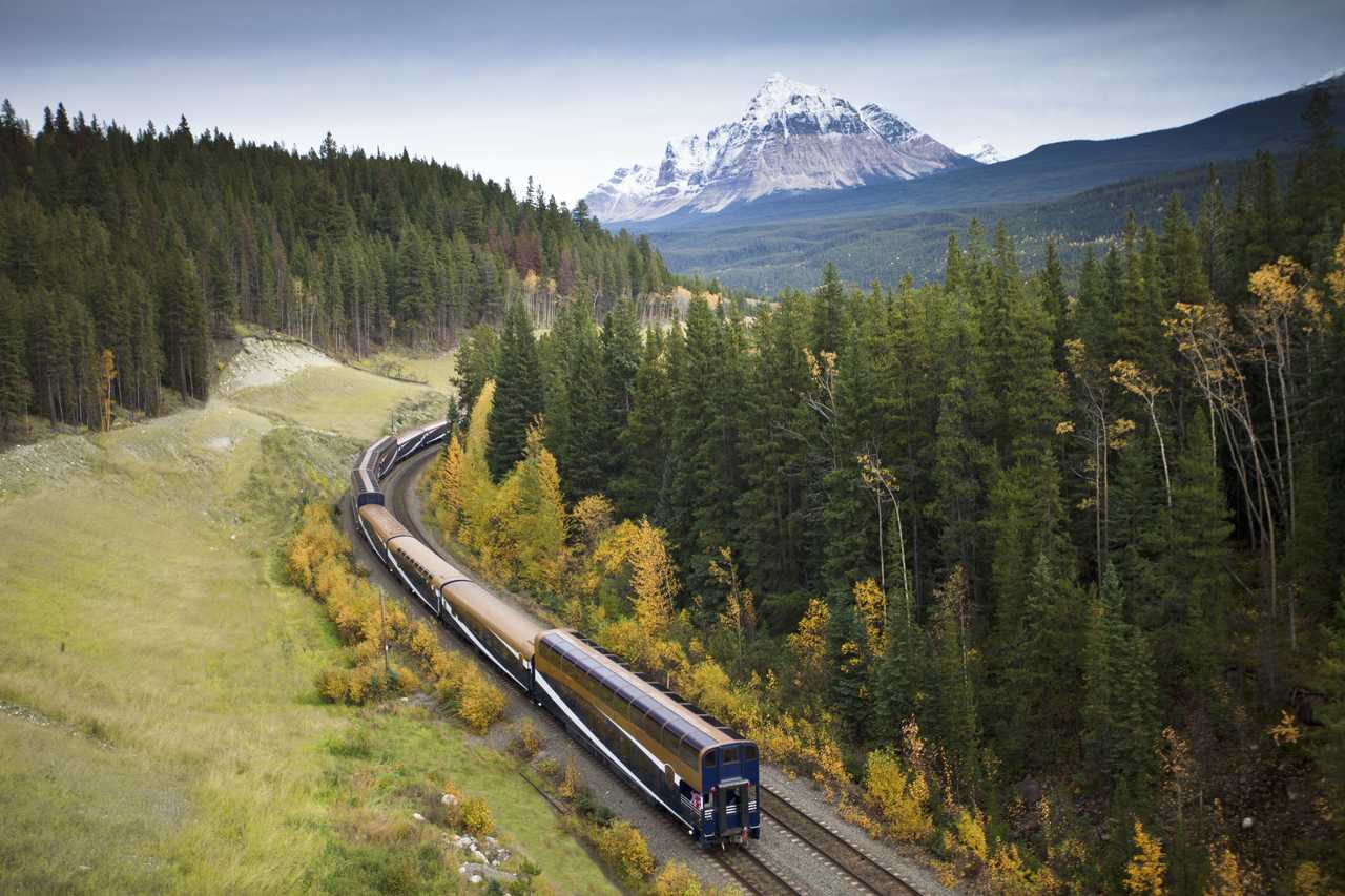Zug der Rocky Mountaineer