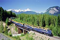 West-Kanada mit Zug & Auto