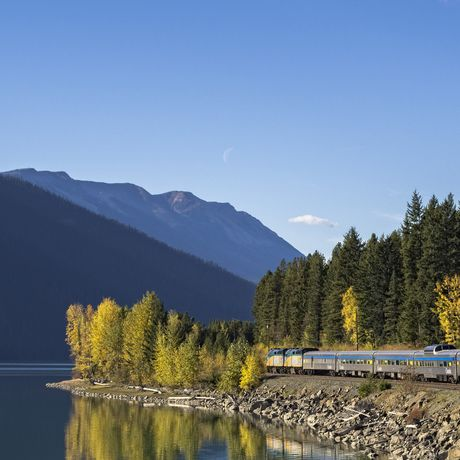 Via Rail, Moose Lake, Alberta
