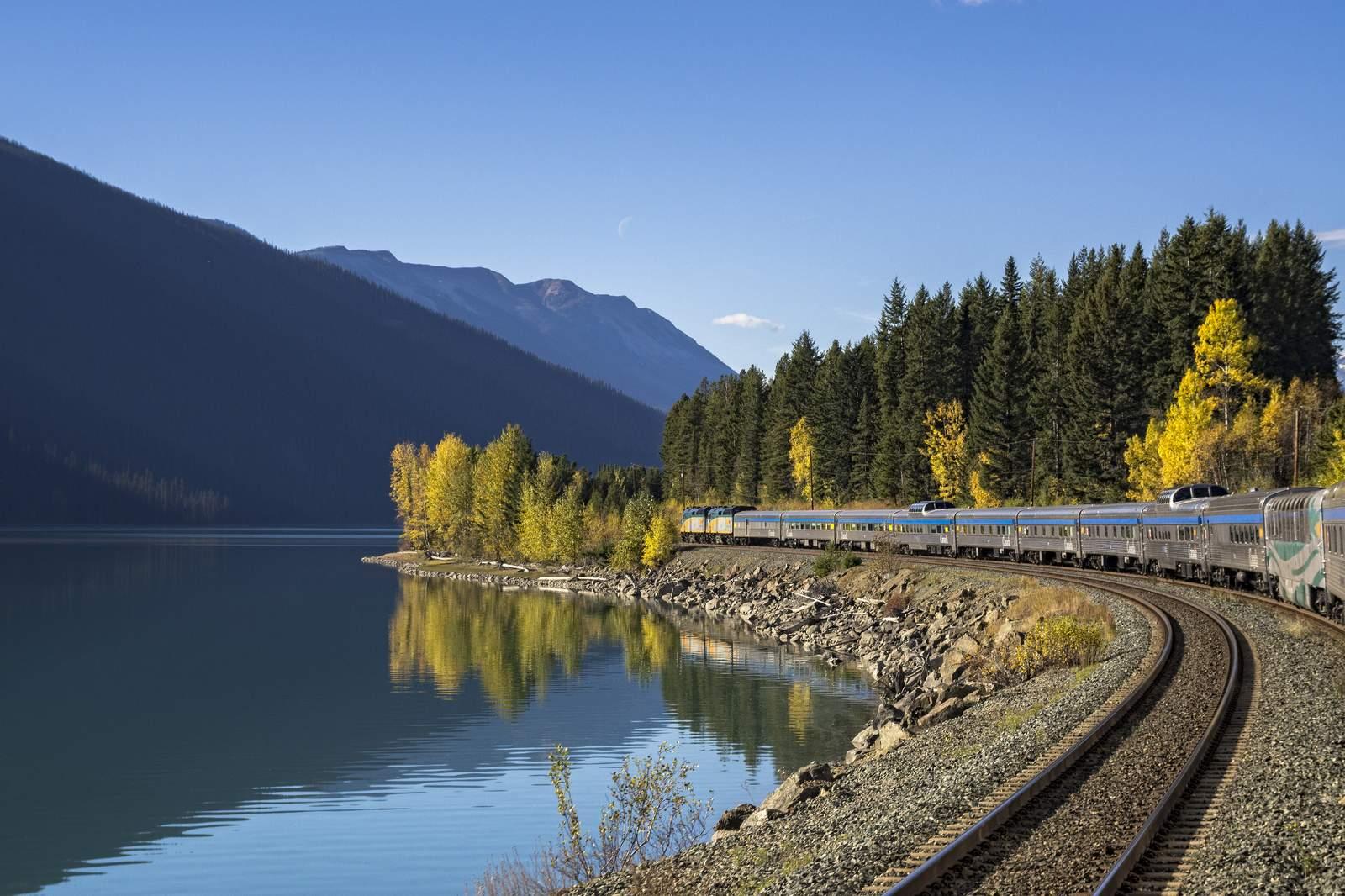 Via Rail, Moose Lake, Alberta