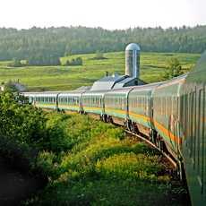 Via Rail Train Montreal-Halifax