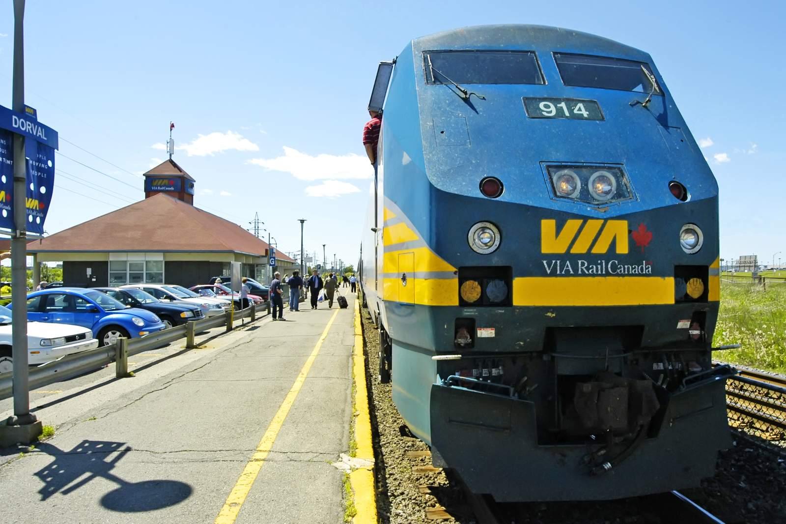 Via Rail Quebec-Windsor