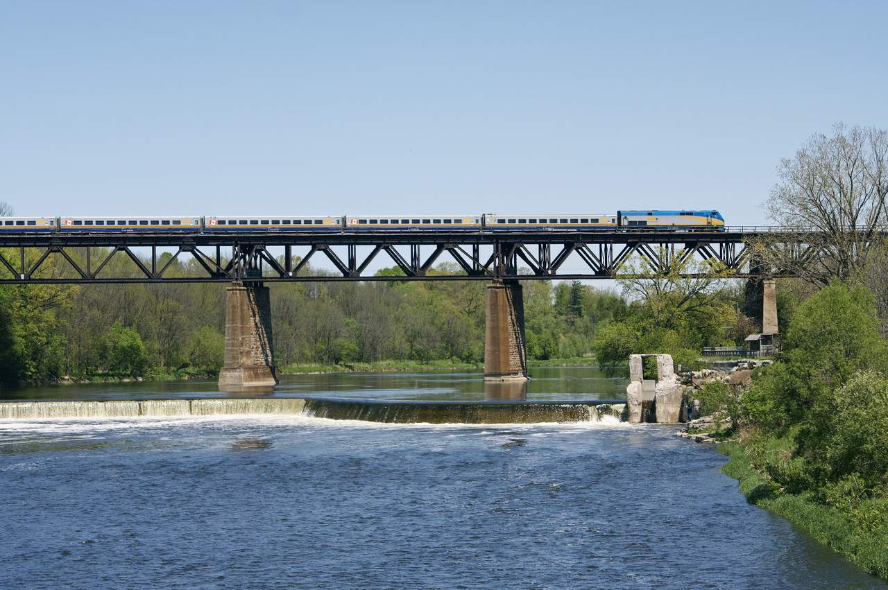 Via Rail Corridor auf der Strecke Québec City - Windsor