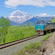 The Canadian vor dem Mount Robson