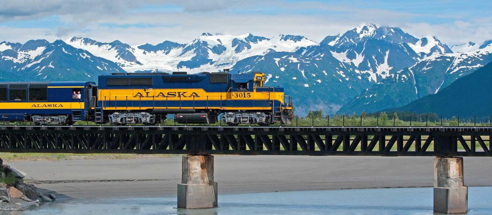 Unterwegs von Seward nach Anchorage
