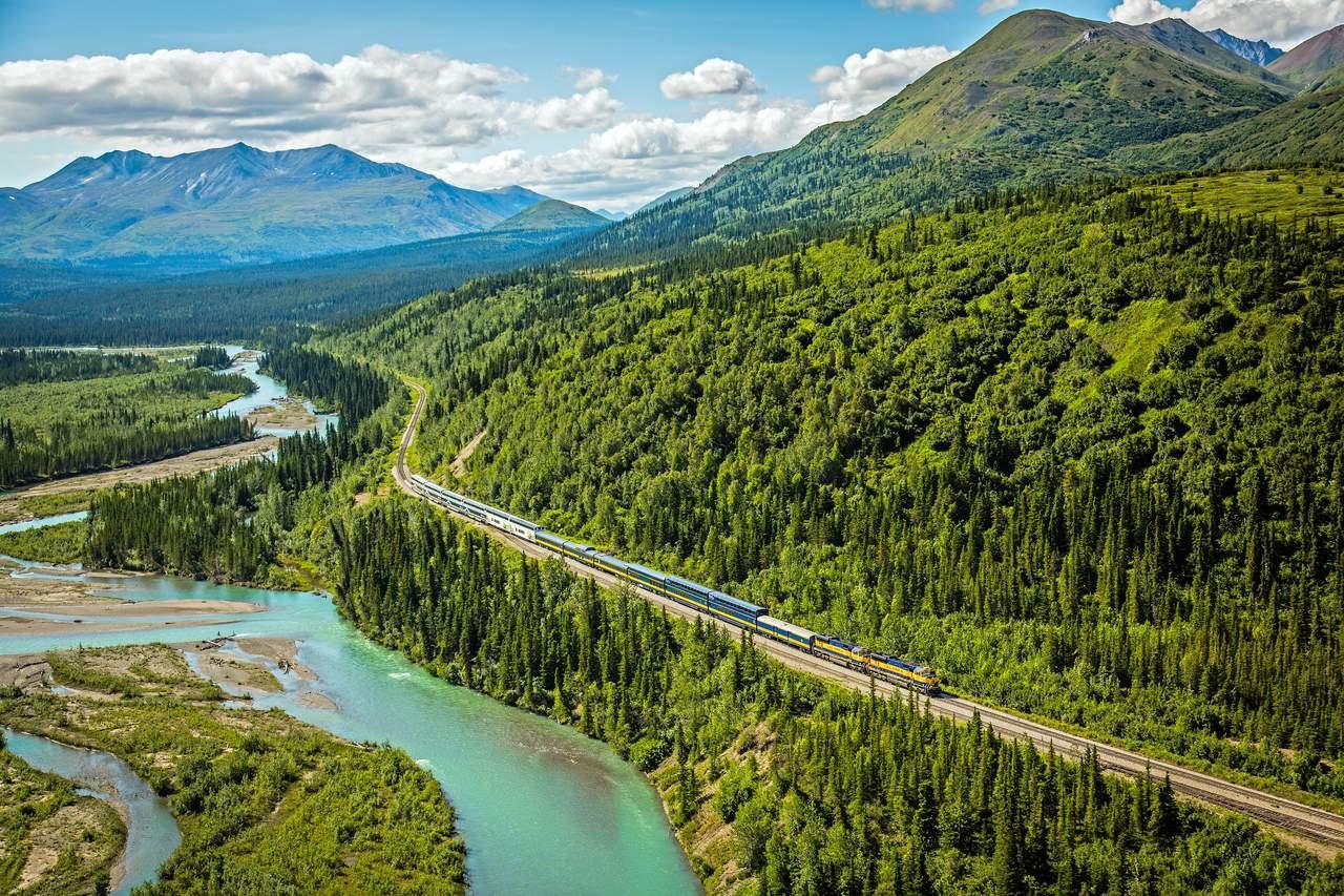 Unterwegs mit der Alaska Railroad