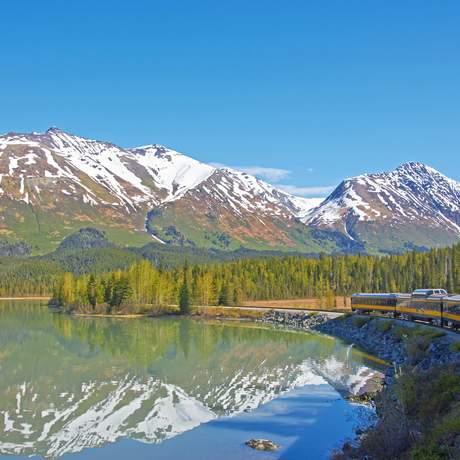 Unterwegs mit Alaska Railroad