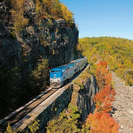 Adirondack-Zug von Amtrak