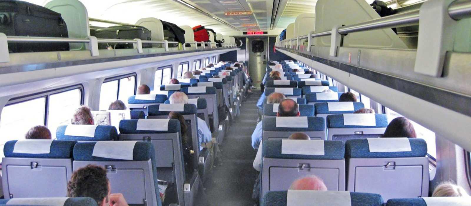 Amtrak Coach Class